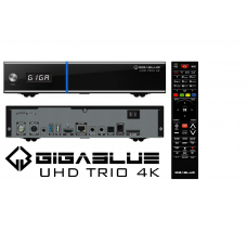 GiGaBlue UHD Trio 4K UHD 1x DVB-S2X 1x DVB-C/T2