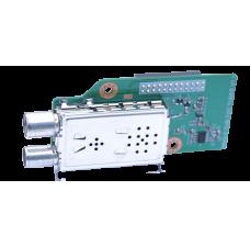 GigaBlue DVB-C/ T2 (H.265) Twin tuner module for UHD Quad 4k, UHD UE 4K & X2