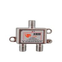 GT-Sat GT-SP21 2 Way Satellite Splitter 5-2400MHz DC Pass Suitable for Unicable