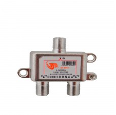GT-Sat GT-SP21 2 Way Satellite Splitter 5-2400MHz DC Pass Suitable for Unicable