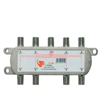 GT-Sat GT-SP81 8 Way Satellite Splitter 5-2400MHz DC Pass Suitable for Unicable