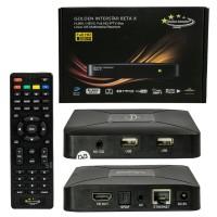Golden Interstar Beta X H.265 HEVC HD IPTV OTT Media Streamer