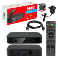 MAG420 4K IPTV Set Top Box Multimedia Player Internet TV Receiver