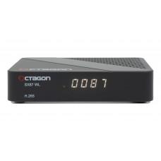 OCTAGON SX87 WL HD H.265 S2 + OTT IPTV Receiver Dual Core (2x800MHz) ARM Cortex-A7 Dual CPU