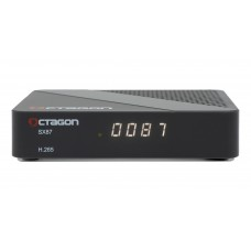 OCTAGON SX87 HD H.265 S2 + OTT IPTV Receiver Dual Core (2x800MHz) ARM Cortex-A7 Dual CPU