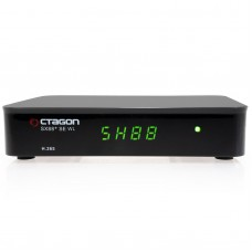 Octagon SX88+ SE WL H.265 HEVC HD Multi-stream Digital Satellite + IPTV Receiver with WiFi