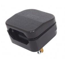 Euro Converter 2pin to 3pin plug ECP1 BLACK