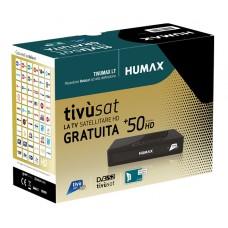TivuSat Humax Tivumax LT HD-3800S HD Decoder + FREE PRE-ACTIVATED Tivusat HD SmartCard