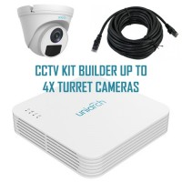 Uniarch by Uniview CCTV Kit Builder - Build your own CCTV kit 4CH up to 4x IP Cameras 2MP POE 30m IR