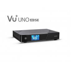 VU+ Uno 4K SE 1x DVB-S2X FBC (8 demodulators) Twin Tuner UHD 4K