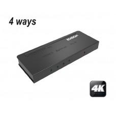 Edision 4K HD 1080p 4 way HDMI Splitter 1x4