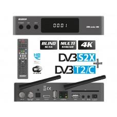 Edision OS mio 4K UHD Grey 1x DVB-S2X + 1x DVB-C/T2