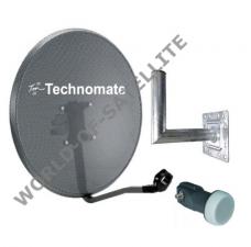Technomate 80cm Mesh Satellite Dish Kit