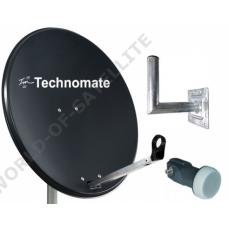 Technomate 65cm Mesh Satellite Dish Kit