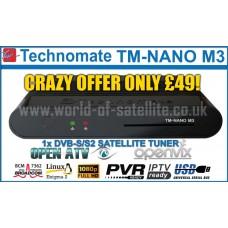 Technomate TM-Nano-M3 HD 1x DVB-S/S2
